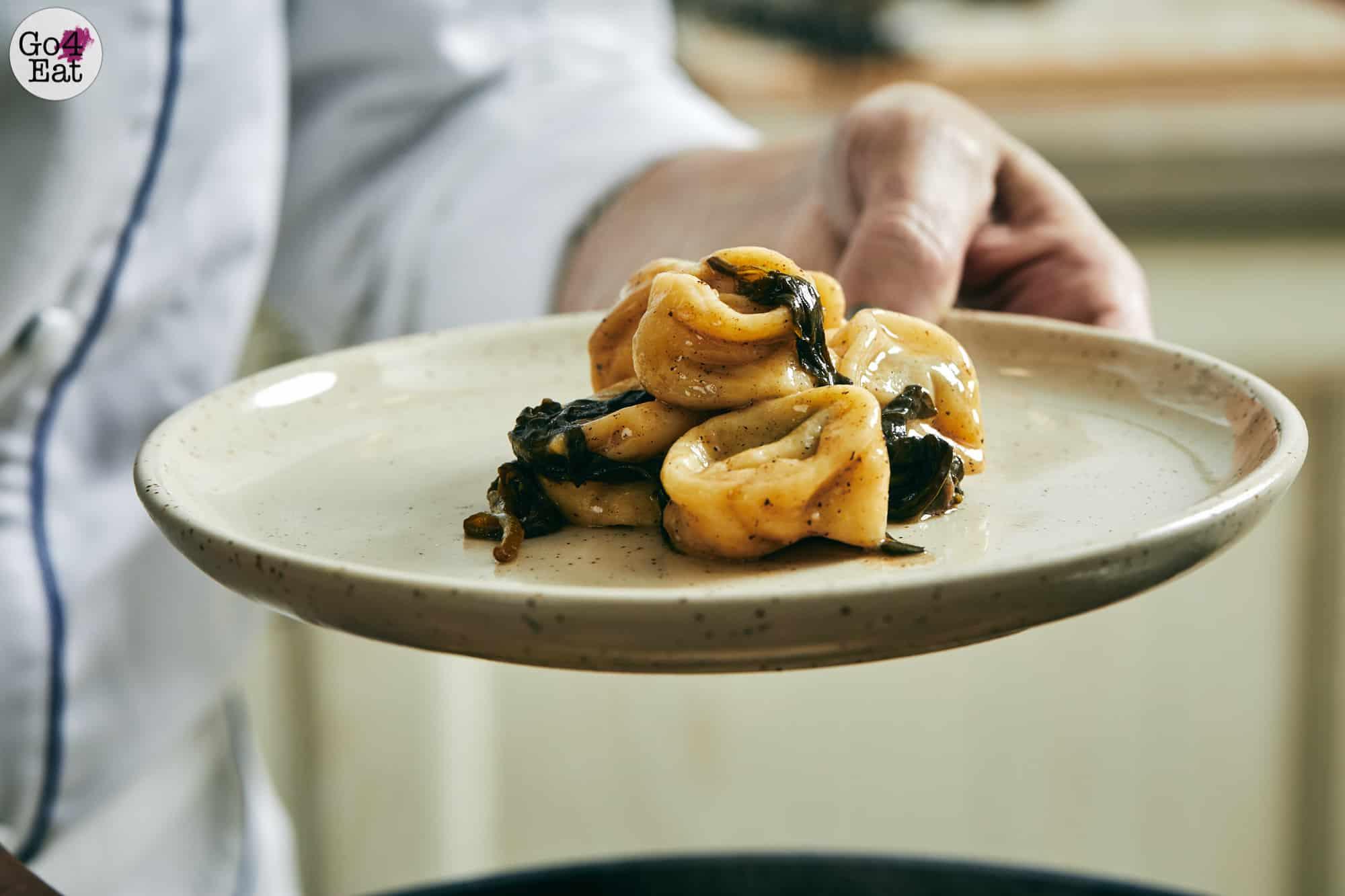 רביולי גבינות עבודת שף, נועה דניס שפית פרטית