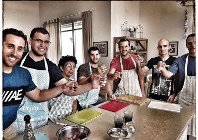 סדנת בישול יוונית מכון ויצמן