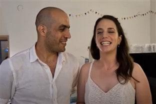 החתונה של שירי וחגי, עם השפית נועה דניס קייטרינג חלבי