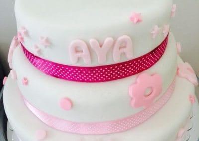 עוגת יום הולדת עם שם