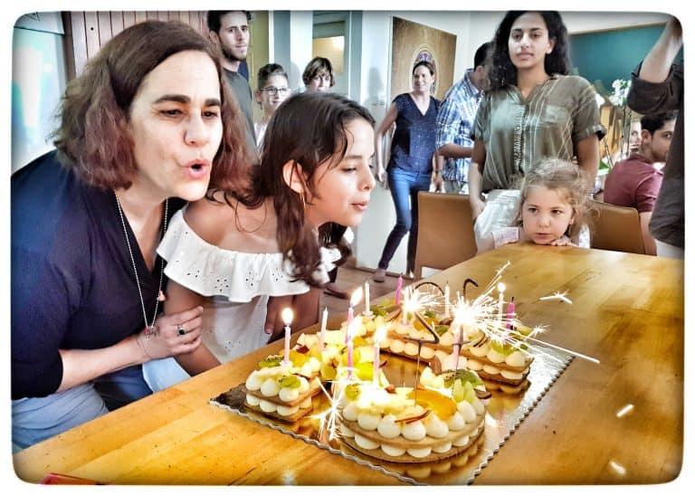 קייטרינג חלבי ליום הולדת, נועה דניס - קייטרינג חלבי